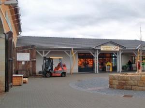 Bäckerei und Café im Neubau haben geöffnet - Januar 2013