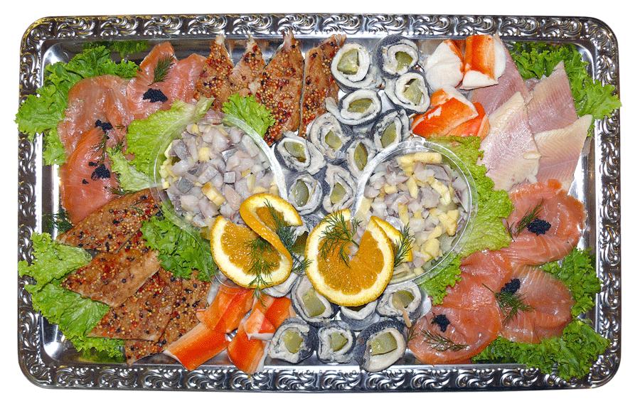 Fischplatte gemischt