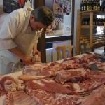 Vorführung Schweinehälfte zerlegen