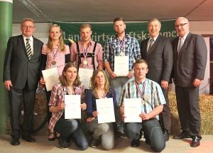 Sieger des DLG Bundesmelkwettbewerbes 2014