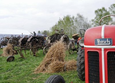 Ausstellung historische Landtechnik