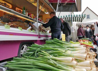 Marktstände zum Hoffest