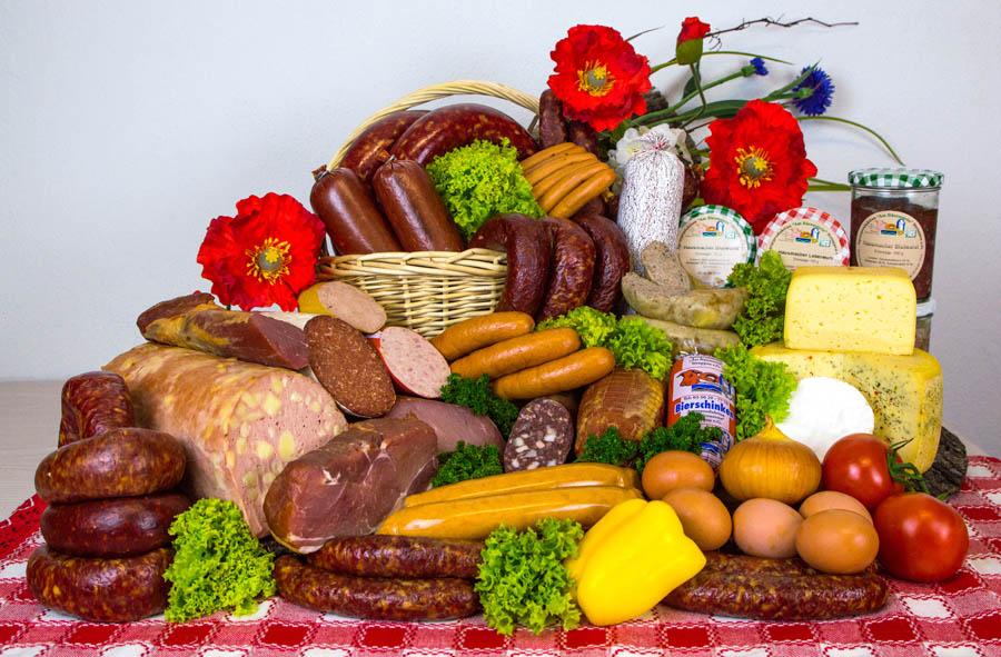 Produkte Landfleischerei Struppen