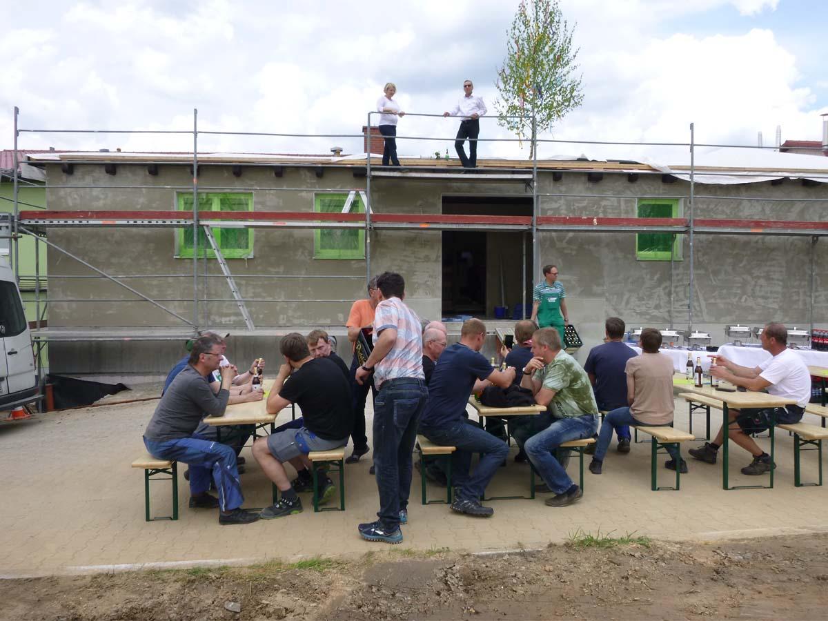 Richtfest am Landschlachthof 2017