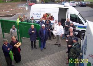 Richtfest am 25.10.2012 an der Obstscheune Krietzschwitz